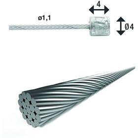 XLC SH-X17 Cable Interior Cambio Ø1,1mm 3000mm